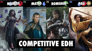 Kess | Edric | Yisan | Narset | cEDH Zona Commander #2