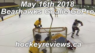 May 16th 2018 Bearhawks Hockey Goalie GoPro