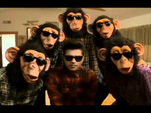 The Lazy Song Bruno Mars And The Monkeys Youtube