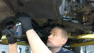 Ford Escape & Fusion 6F35 Transmission Fluid Change Procedure