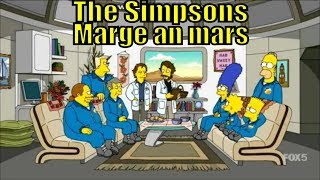 The Simpsons Mar Homer S 27 E 16 The Marge an Lisa Mars Video