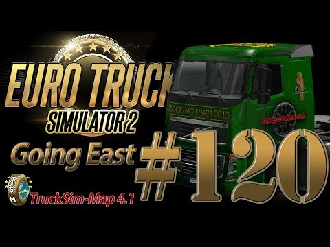 Euro Truck Simulator 2 Going East DLC [HD] ✪ Let's Play #120 |