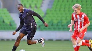 Usain Bolt au Foot voilà ce que ça Donne