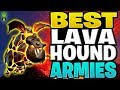 3 DIFFERENT TH9 ARMIES USING LAVA HOUNDS! - Let's Play TH9 Ep. 17 - Clash of Clans