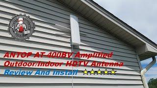 ANTOP AT-400BV Antenna Review And Install