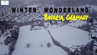 Snow in Germany 🇩🇪   Winter Wonderland in Bavaria, Germany   Germany Travel Vlog