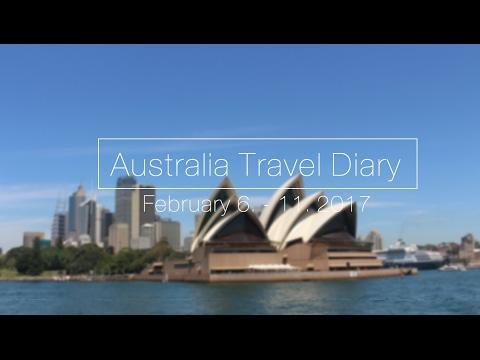 Australia Travel Diary Part 1 | February 6. - 11. 2017