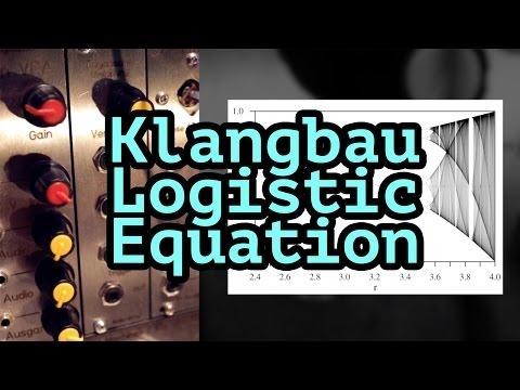 Klangbau Logistic Equation Eurorack Demo (Logistische Gleichung) #TTNM
