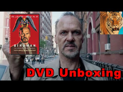 Birdman or (The Unexpected Virtue of Ignorance) DVD Unboxing