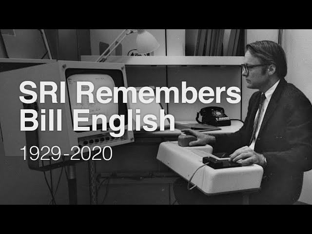 SRI Remembers Bill English, 1929-2020