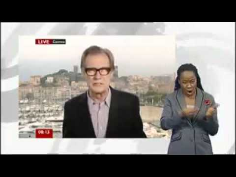 Bill Nighy explains the Robin Hood Tax (BBC News)