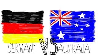 GERMANY vs. AUSTRALIA