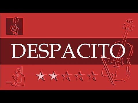 Violin Notes Tutorial - Despacito - Luis Fonsi ft. Daddy Yankee (Sheet Music)