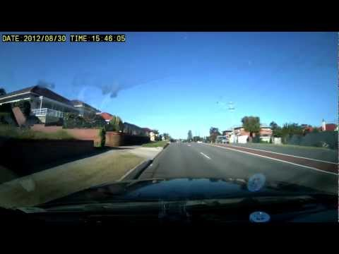 Driving around in Perth WA