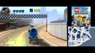 LEGO City Undercover (3DS): The Chase Begins - All Race Events Complete (Racing Car Unlocked)