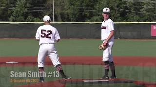 Sean Smith Arlington HS 2022 HV Bulldogs Baseball 15U Highlights