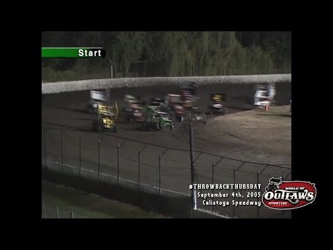 #ThrowbackThursday: World of Outlaws Sprint Cars Calistoga Speedway September 4th, 2005