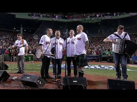 Dropkick Murphys perform national anthem