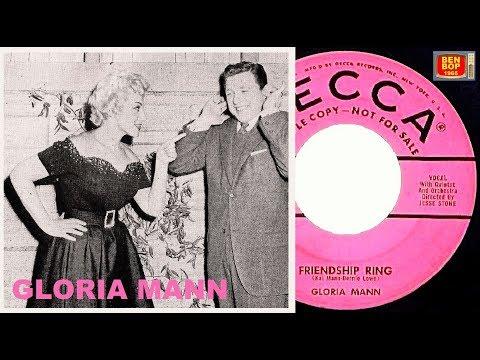 GLORIA MANN  One Heart  Friendship Ring 1955