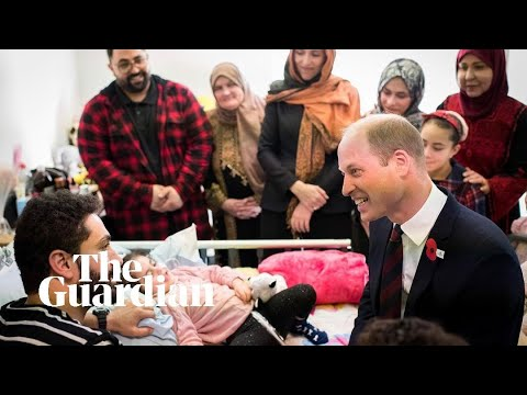 Christchurch attack: Prince William meets with five-year-old survivor