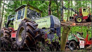 MB Trac´s & Unimog´s im Forsteinsatz |Feldtage Nordhorn 2018| °Teil 3° //4K//