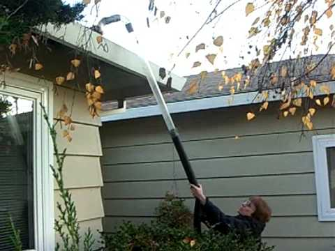 Diy Transparent Gutter Vacuum Cleaner Youtube