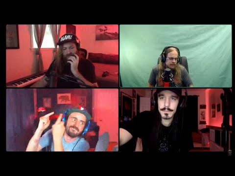 GAME WITH NAPALM - Gloryhammer, Alestorm, & Æther Realm Livestream (#NapalmSofaSeries)