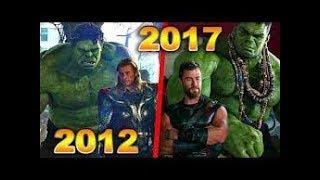 """Эволюция серии фильма """"Тор"""".Как изменилась серия фильма """"Тор""""(2011-2017)(трейлер)"""