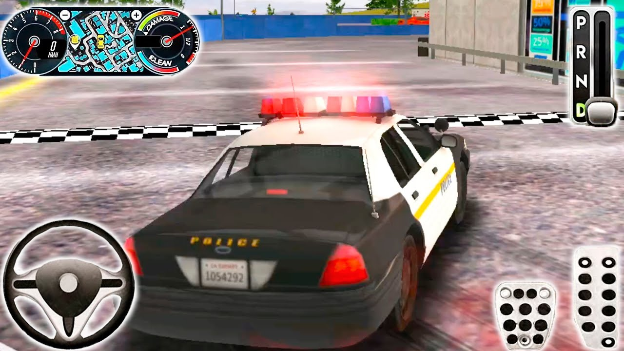 Police Drift Car Driving Simulator Android Gameplay #9