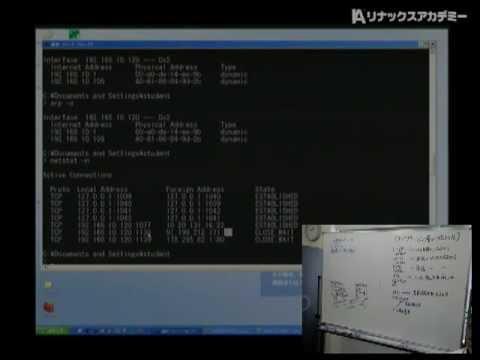 リナックスアカデミーネットワーク入門