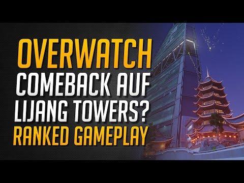 COMEBACK auf LIJANG TOWERS? | Overwatch Ranked Gameplay + Team Chat ★ Overwatch Deutsch