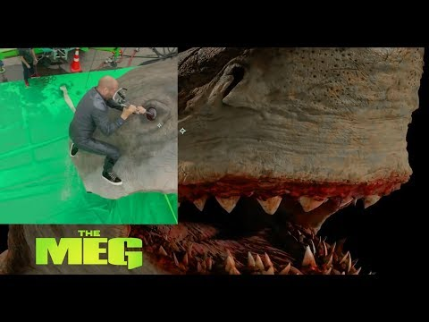 The Visual Effects of The Meg | Jason Statham vs Megalodon fight scene by Sony Imageworks