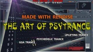 Уроки создания транс музыки в Renoise 3.1/Goa&Psytrance, Psymorning / ч.intro из 10 (Введение)
