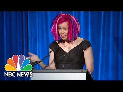 'Matrix' CoCreator Lana Wachowski Speaks At New York LGBT Event