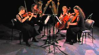 "Four Voices String Quartet plays the ""Finale"" from ""The Lark"" by Haydn"