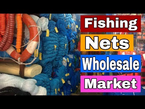 Fish Net Market In Mumbai | Fish Net Wholesale Market | Saqib Hunerkar Vlogs