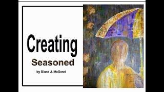 E: 04b Erstellen von mixed-media-art - GEWÜRZT durch Diane J McGarel (arts2 vorstellen)