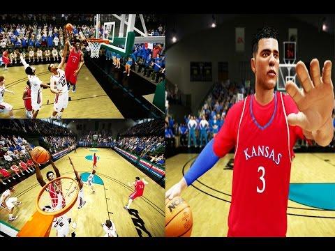 NBA 2K15 Road To The NBA Draft - Tyler King - NCAA March Madness Tournament Round 1 VS EKU