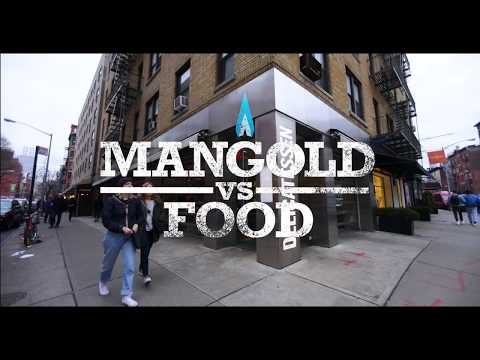 Mangold vs Food: Nick Mangold Tries Out for Team Bernzomatic
