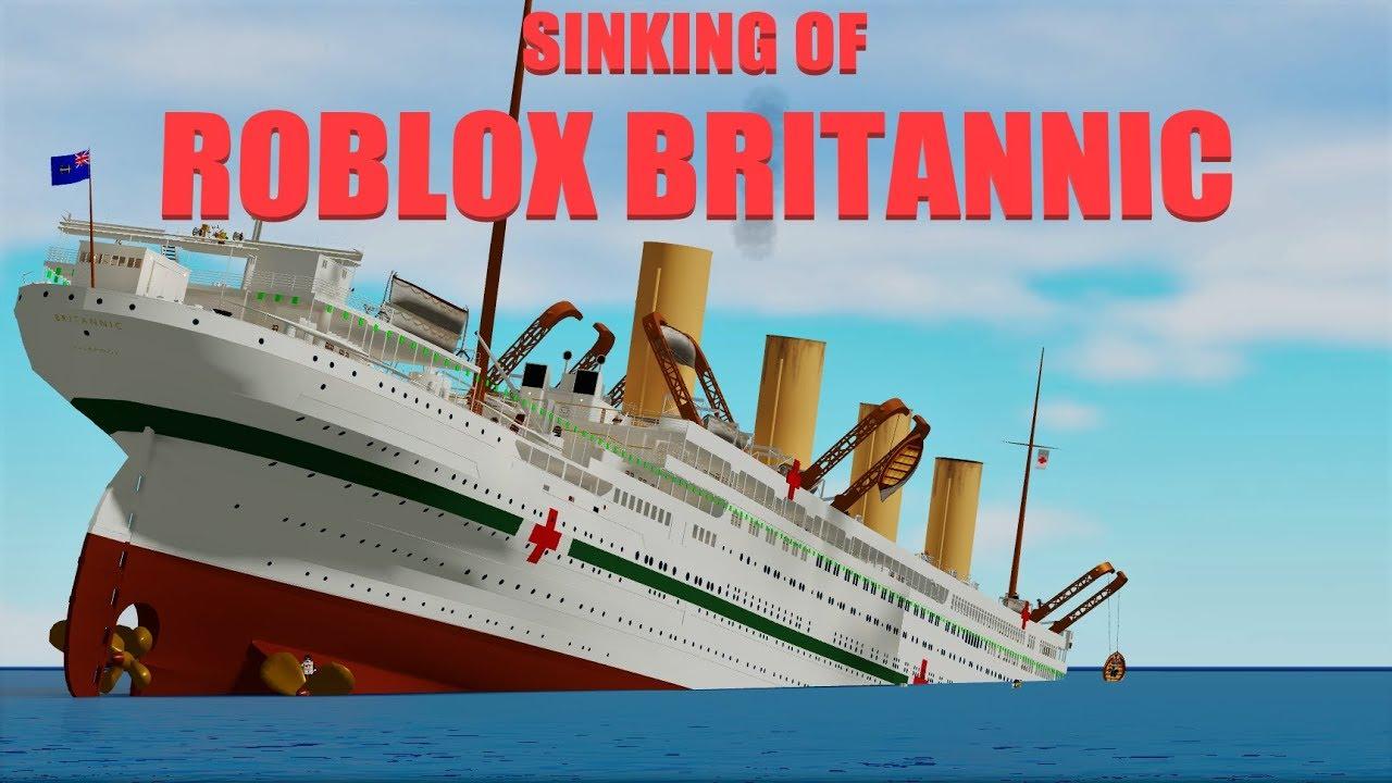Roblox Britannic Sinking Ship Teaser Trailer Sinking Of Roblox Britannic Youtube