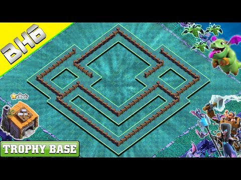 BEST BH6 ANTI EVERYTHING TROPHY Base 2019 With COPY LINK - Clash Of Clans