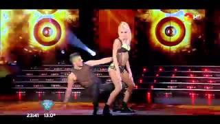 Showmatch 2015 - Candela Ruggeri se Lucio en el Reggaeton Con La Presencia de su Padro.