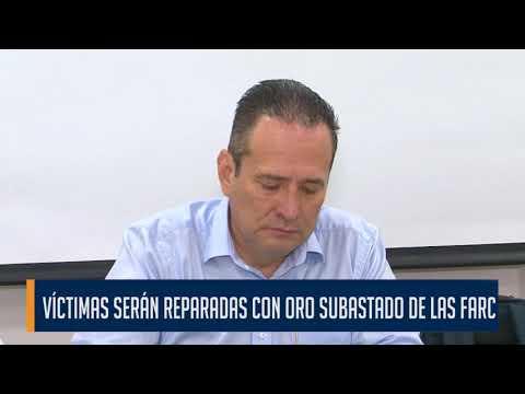 Oro entregado por las Farc fue subastado por más de $40.000 millones de pesos