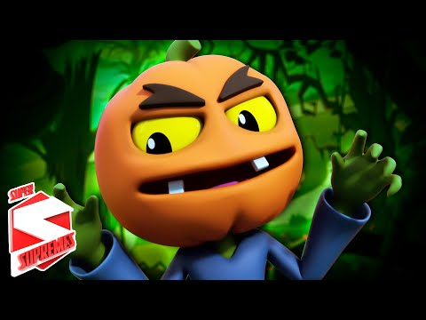 Ha Ha It's Halloween Night | Scary Nursery Rhymes Songs For Kids | Scary Song