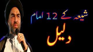 Shia k 12 Imam ki daleel || Syed Ali Raza Rizvi