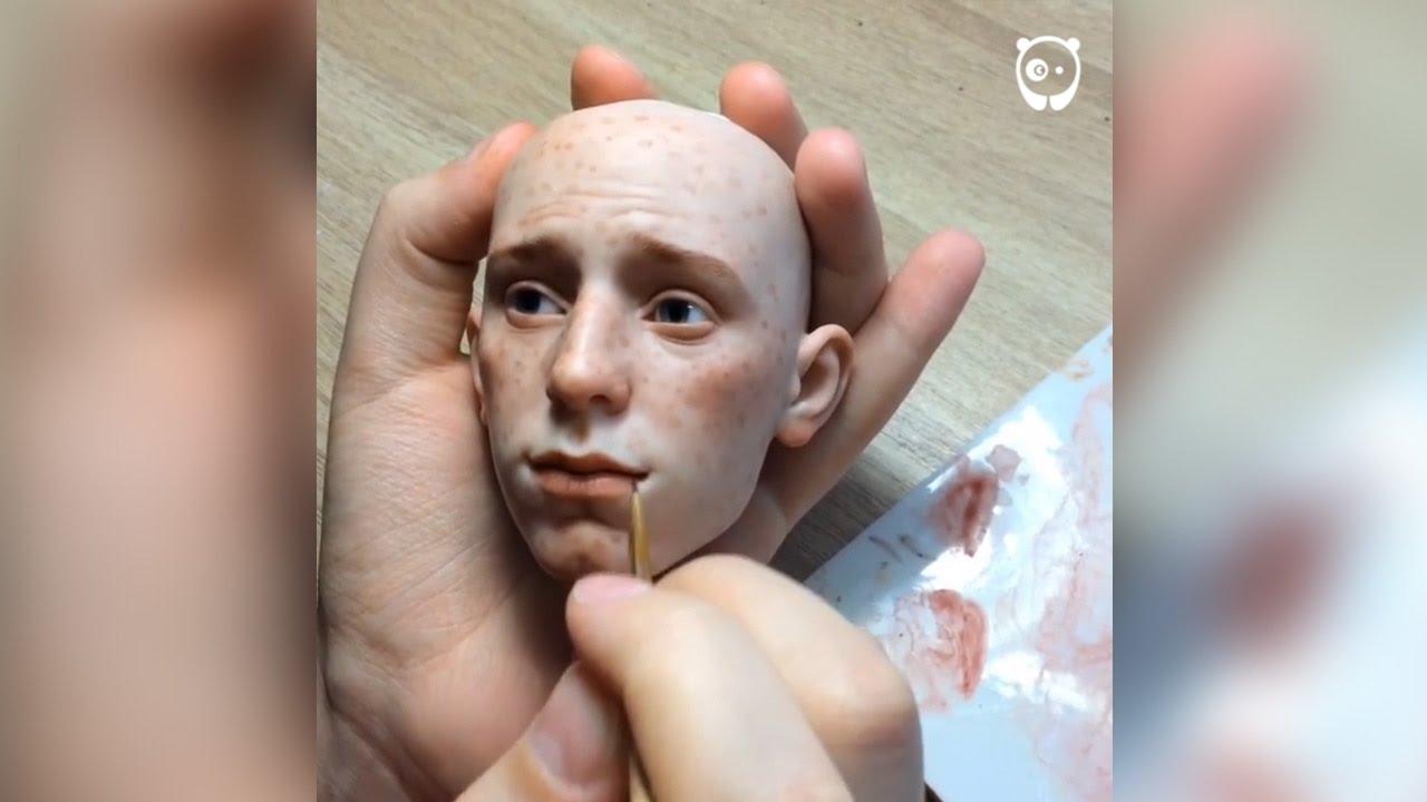 Russian Artist Creates Stunningly Realistic Dolls YouTube - Artist creates stunning hyper realistic paintings of women