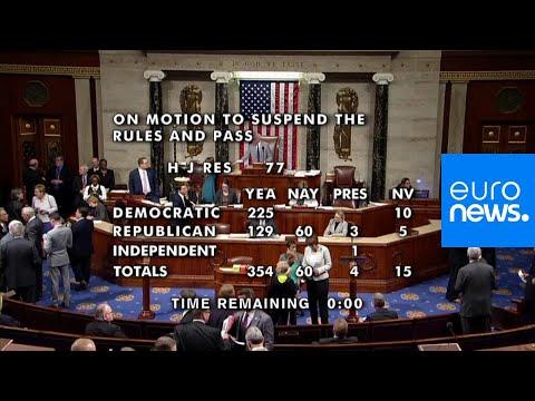 مجلس النواب الأميركي يدعم بأكثرية ساحقة مشروع قانون يدين قرار ترامب في سوريا…  - نشر قبل 4 ساعة