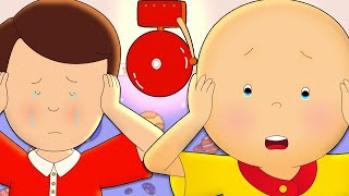 Caillou and the Fire Alarm | Caillou | Cartoons for Kids | WildBrain Kids