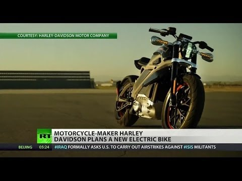 Harley-Davidson Shows Off Its First Electric Motorcycle