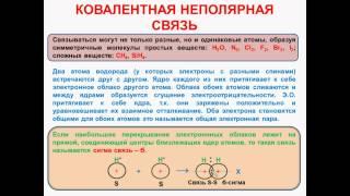 № 30. Неорганическая химия. Тема 4. Химическая связь. Часть 4. Ковалентная неполярная связь